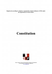CSF Constitution_English_amended FRONT PAGE